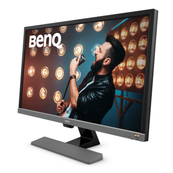 "cumpără 28.0"" BenQ ""EL2870U"", Metallic-Grey (4K-UHD 3840x2160, 1ms, 300cd LED12M:1 + HDR, HDMI+DP, Speakers) (28.0"" TN W-LED, 3840x2160 4K-UHD, 0.16mm (157ppi), 5ms (1ms GtG), 300 cd/m², DCR 12 Mln:1 (1000:1) + HDR, 1.07 Billion Colors, 170°/160° @C/R>10, 30-83 kHz(H)/56-75 Hz(V), DisplayPort + HDMI, DP/HDMI Audio-In, Headphone-Out, Built-in speakers 2Wx2, Built-in PSU, Fixed stand (Tilt: -5/+15°), VESA Mount 100x100, AMA, AMD FreeSync, Flicker-Free, Low Blue Light, Light sensor, Metallic grey + Black) în Chișinău"