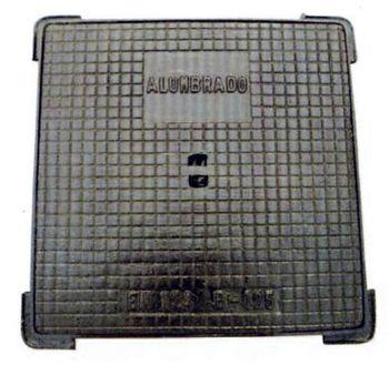 купить Люк чугунный квадратный 530 х 530 EN124 B125 в Кишинёве