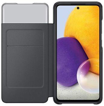 купить Чехол для моб.устройства Samsung  Galaxy A72 EF-EA725PB, Smart S View Wallet Cover Black в Кишинёве