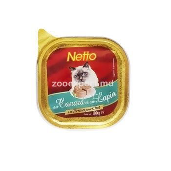 купить Netto паштет утка с кроликом 100 gr в Кишинёве