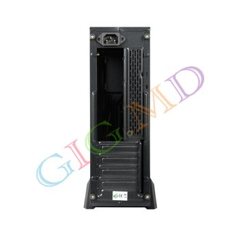 Case mATX Tower/Desktop Chieftec UE-02B-OP, w/o SFX PSU, 2xUSB3.0, Black