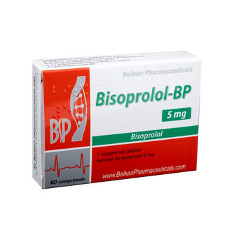 cumpără Bisoprolol 5mg comp. N20x3 în Chișinău