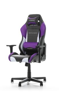 Performance Chairs DXRacer - Drifting GC-D61-NWV-M3, Black/White/Violet - PU leather, Gamer weight up to 100kg / growth 145-175cm, Foam Density 52kg/m3,5-star Aluminum IC Base,Gas Lift 4 Class,Recline 90*-135*,Armrests: 3D,Pillow-2,Caster-2*PU,W-24kg
