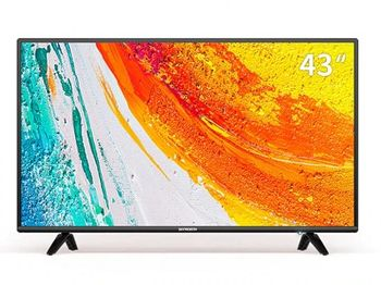 "43"" LED TV SKYWORTH 43E2A, Black, 1920x1080 (FHD), 250cd/m2,  Angle 176°, DTS TruSurround RMS 2x6W, HDMIx2, USBx2, WiFi+Lan, Coaxial, DVB-T/T2/C/S/S2, Vesa 200x100"