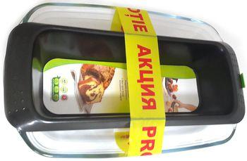купить Форма для выпечки Pyrex V29A002 set (tava sticla 32*20cm + metal.drept. 26cm) в Кишинёве