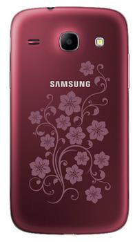 Samsung I8262 Galaxy Core Wine Red La Fleur 2 SIM (DUOS)