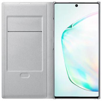 купить Чехол для моб.устройства Samsung Galaxy Note 10 Plus ,EF-NN975 LED View Cover Silver в Кишинёве