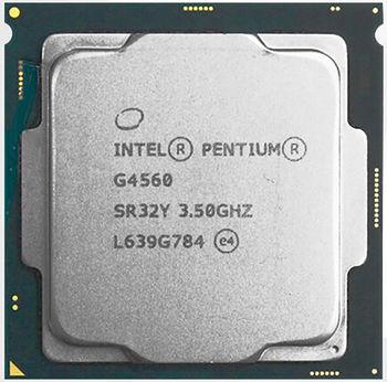 Intel® Pentium® Dual-Core G4560, S1151, 3.5GHz, 3MB L2, Intel® HD Graphics 610, 14nm 54W, Box