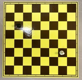 Доска для шахмат/шашек картонная 50x50 см CHTX55PH (5241)