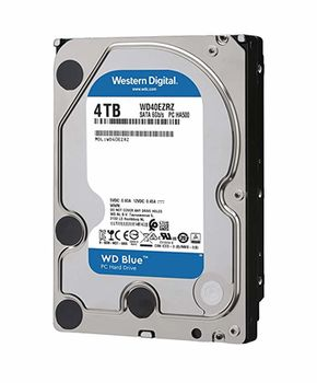 "4.0TB-SATA-  64MB  Western Digital ""Blue"