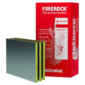 Rockwool Минвата Firerock 100x60x2.5см