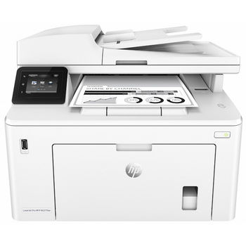 MFD HP LaserJet Pro M227fdw, White, A4, 28ppm, Fax, 256MB, up to 30000 monthly, 6.8cm touch screen, 1200dpi, Duplex, 35 sheets ADF, Hi-Speed USB 2.0, WiFi 802.11b/g/n, HP ePrint, Apple AirPrint Ethernet 10/100Base-TX, CF230 HP 30 A/X (1600/3500p)