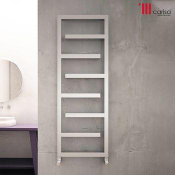 Дизайнерский радиатор CARISA inox ECLIPSE 1370×500
