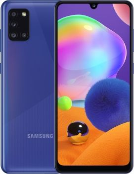 купить Samsung Galaxy A31 2020 4/64Gb Duos (SM-A315), Blue в Кишинёве