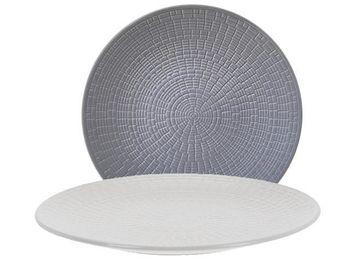 Тарелка десертная 21cm рельефная, керамика