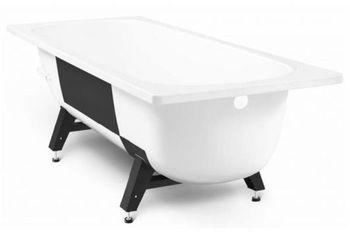 Ванна прямоугольная стальная Viz Tevro 150