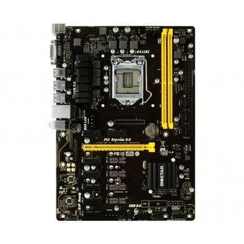 Biostar A320MH, Socket AM4, AMD A320, Dual 2xDDR4-2667, APU AMD graphics, VGA, HDMI, 1xPCIe X16, 4xSATA3, RAID, 2xPCIe X1, ALC887 HDA, GbE LAN, 4xUSB3.1, 95W, mATX