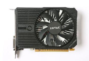 ZOTAC GeForce GTX 1050 Ti 4GB DDR5, 128bit, 1417/7008Mhz, Single Fan, HDCP, DVI, HDMI, DisplayPort, Lite Pack