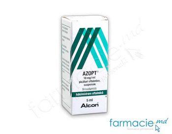купить Azopt® pic.oft.10 mg/5 ml в Кишинёве