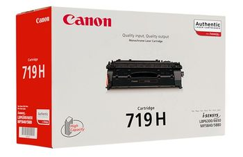 Cartridge Canon 719H, black (6400 pages) for LBP-6300dn/6650dn, MF5840dn/5880dn