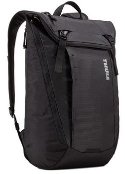 "14-15"" NB Backpack - THULE EnRoute 20L, Black, Safe-zone, 840D nylon, 330D nylon mini ripstop, Dimensions: 30 x 21 x 45.5 cm, Weight 0.88 kg, Volume 20L"