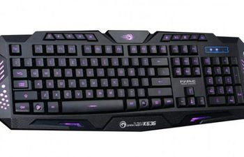 cumpără Marvo Keyboard K636 Wired Gaming US LED în Chișinău