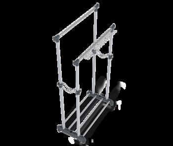 купить Стойка для одежды двойная передвижная на колёсиках  В1-67 в Кишинёве