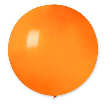 купить Шарик с Гелием Гигант - Оранжевый в Кишинёве