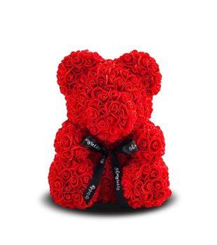 купить Медведь из красных    роз 40 см в Кишинёве