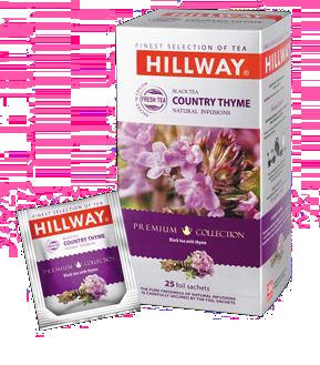 Черный чай Hillway c чабрецом 25х1,5гр