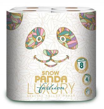 Туалетная бумага PANDA LUXURY 4 слоя 20.8м*8 Fashion
