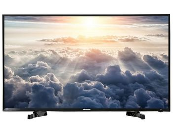 "40"" LED TV Hisense H40M2100C, Black (1920x1080 FHD, PCI 800Hz, DVB-T/C) (40'' DLED 1920x1080 FHD, PCI 800 Hz, Display color depth 8bit, H.264,MPEG4, MPEG2,VC1, 2 HDMI 2.0, 2 USB (foto, audio, video), DVB-T/C, OSD Language: ENG, RU, Speakers 2x7W, VE"