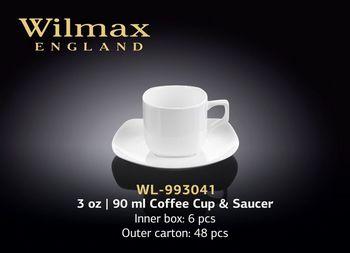 Чашка WILMAX WL-993041 AB (с блюдцем 90 мл)