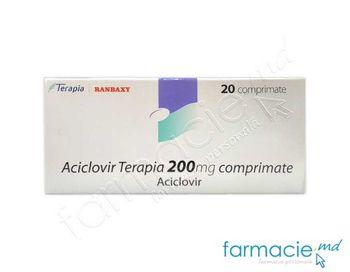 купить Aciclovir Terapia  comp. 200 mg  N20 в Кишинёве