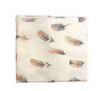 Пеленка байковая HB (100x80 cm) Feather