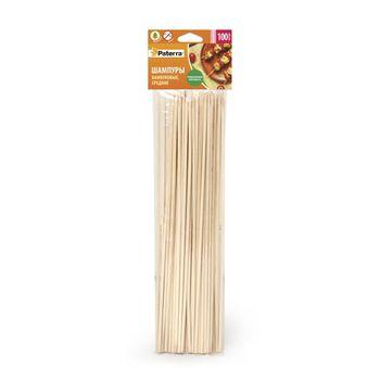 купить Шампуры бамбуковые, средние 250 mm, 100 шт. в Кишинёве