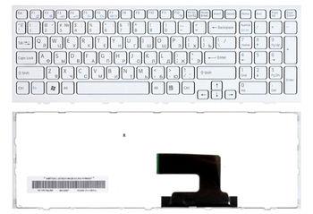 Keyboard Sony VPCEH (EE / EL) w/frame ENG/RU White
