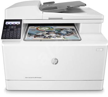 All-in-One Printer HP Color LaserJet Pro MFP M283fdn, White, A4, Fax, Up to 21ppm, Duplex, 256MB RAM, 600x600 dpi, Up to 40000 p., 50-sheet  ADF, 6.85cm touch, PCL 5c/6, Postscript 3, USB 2.0, Gigabit Ethernet, ePrint, AirPrint (HP 207A/X  B/C/Y/M)
