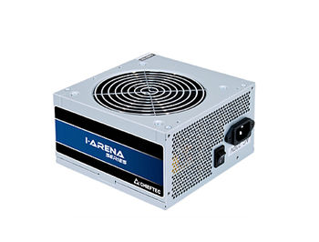 Блок питания 500W ATX Power supply Chieftec GPB-500S, 500W, ATX 12V 2.3, 120mm silent fan, 85 plus, Active PFC (Power Factor Correction) (sursa de alimentare/блок питания)