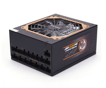 "PSU ZALMAN ""ZM1200-EBT"", 1200W, ATX 2.31, 80 PLUS® Gold, Active PFC, Full Modular Cable System, 120mm Quiet Fan, Smart Fan Control, Extra Cooling System, +12V (100A), 20+4 Pin, 2xEPS(4+4Pin), 12xSATA, 8xPCI-E(6+2pin), 8x Periph., Black"