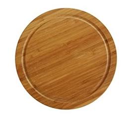 купить Доска бамбуковая Ø 30 см Axentia 125238 в Кишинёве