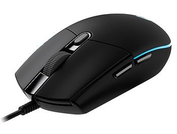 Logitech Gaming Mouse G102 Lightsync RGB lighting, 6 Programmable buttons, 200- 8000 dpi, Onboard memory, Black, 910-005823 (mouse/мышь)