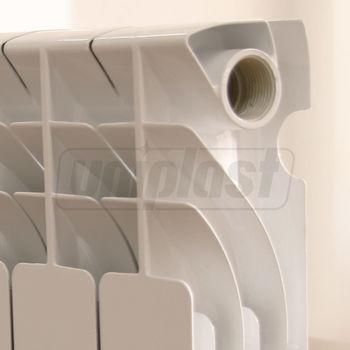 купить Радиатор алюминиевый  420 x 80 x 80 PN18  WDF-A350 в Кишинёве