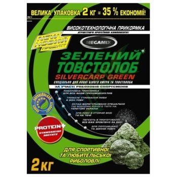 Прикормки MEGAMIX Зеленый Толстолоб 2кг