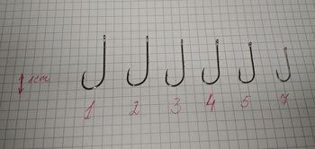 Крючки для Селедки Nr7, 10шт