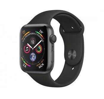 купить Apple Watch Series 5 44mm/Space Grey Aluminium Case With Black Sport Band, MWVF2 GPS в Кишинёве
