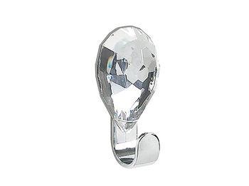 Крючок самоклеющийся Jewel 3X6.5cm кристал