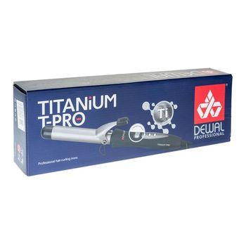 Плойка для волос TitaniumT Pro с терморегулятором (25 мм) DEWAL 03-25T