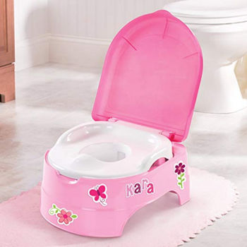 купить Горшок 3 в 1 Summer Infant My Fun Potty Girl в Кишинёве