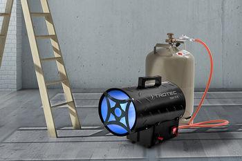 купить Газовый воздухонагреватель TROTEC TGH11E мощностью 10 кВт в Кишинёве